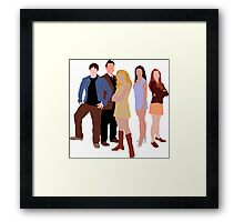 The Original Scoobies Framed Print