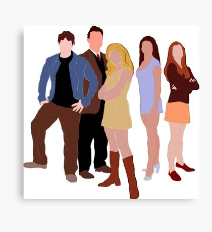 The Original Scoobies Canvas Print