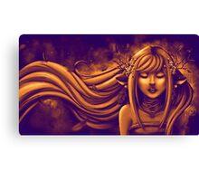 Automn Gold Bronze Canvas Print