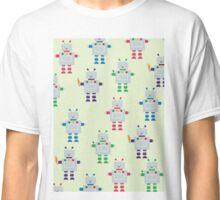 ROBOT PATTERN Classic T-Shirt