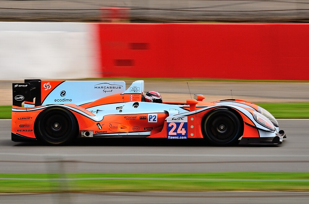 Oak Racing No 24 by Willie Jackson