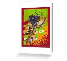 Mad scientist Greeting Card