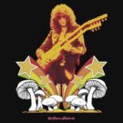 Jimmy Page Led Zeppelin T Shirt by retrorebirth