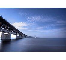 Oresund Bridge Photographic Print