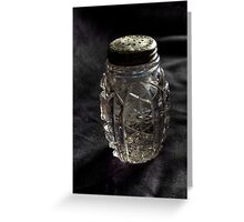 Found:  Salt Shaker Greeting Card