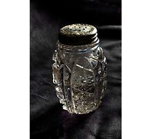 Found:  Salt Shaker Photographic Print