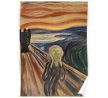 Doctor Who - The Scream (Angels edition) Poster