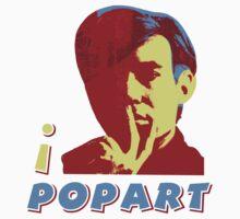 I LOVE POP ART T-shirt by ethnographics