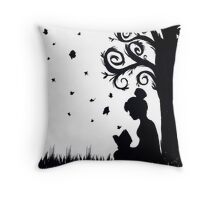 Reading Bliss Throw Pillow