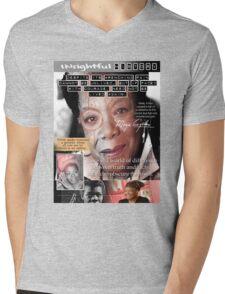 maya angelou Mens V-Neck T-Shirt