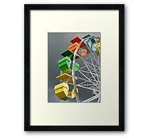 Mulligan Wheel Framed Print
