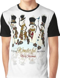 Snow Play Graphic T-Shirt