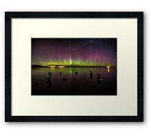 Aurora Australis - New Zealand Framed Print
