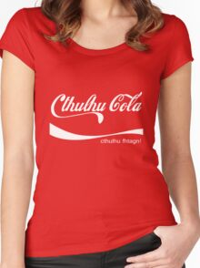 Cthulhu Cola Women's Fitted Scoop T-Shirt