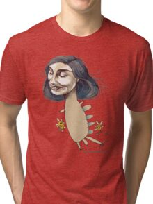 Dinosaur Girl Tri-blend T-Shirt