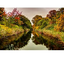 Citadel Canal Photographic Print