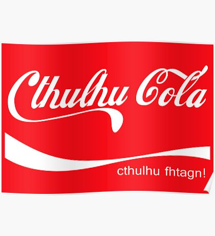 Cthulhu Cola Poster