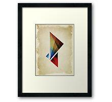 Triangularity  Poster  Framed Print