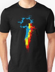 Dashie's Cutiemark Paint Splat Unisex T-Shirt