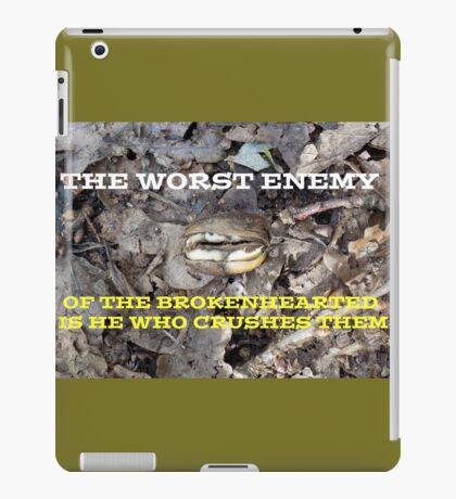 Enemies iPad Case/Skin