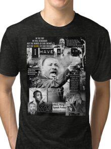 martin luther king jr Tri-blend T-Shirt