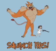 Rick and Morty – Squanch This! One Piece - Short Sleeve