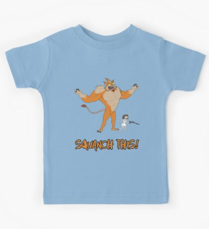 Rick and Morty – Squanch This! Kids Tee