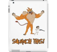 Rick and Morty – Squanch This! iPad Case/Skin