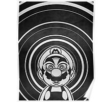 Super Mario Tripping Bros. Geek Line Artly  Poster