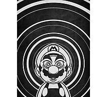 Super Mario Tripping Bros. Geek Line Artly  Photographic Print