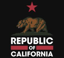 Republic of California - Dark by BrandOne
