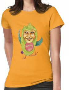 Owl Right Womens Fitted T-Shirt