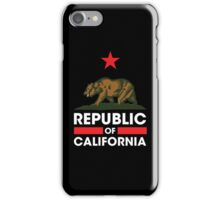 Republic of California - Dark iPhone Case/Skin