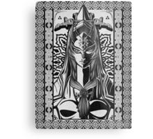 Legend of Zelda Midna Twilight Princess Geek Line Artly  Metal Print