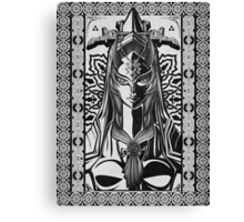 Legend of Zelda Midna Twilight Princess Geek Line Artly  Canvas Print