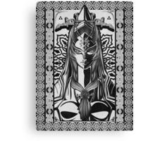 Legend of Zelda Midna Twilight Princess Geek Line Artly  Canvas Print
