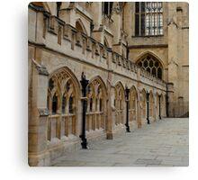 Bath Abbey Canvas Print