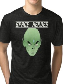 Space Heroes Tri-blend T-Shirt