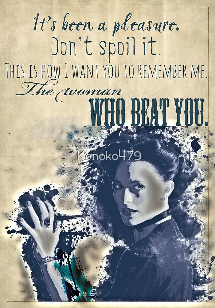The Woman by Konoko479