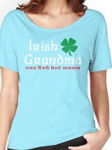 """Irish Grandma """"one red hot mama"""" Women's Relaxed Fit T-Shirt"""