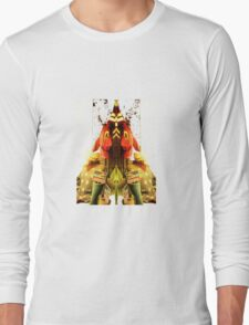 jumper mirror merge spooky Long Sleeve T-Shirt