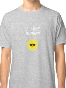 I LOVE SUMMER Classic T-Shirt