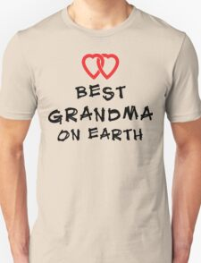 "Grandma ""Best Grandma on Earth"" Unisex T-Shirt"