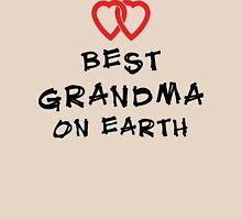 """Grandma """"Best Grandma on Earth"""" Womens Fitted T-Shirt"""
