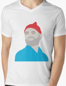 Bill Murray The Life Aquatic  Mens V-Neck T-Shirt