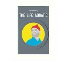Bill Murray The Life Aquatic  Art Print