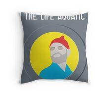 Bill Murray The Life Aquatic  Throw Pillow