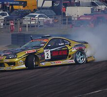 1000 Horsepower of Smoke - Mark Luney - Toyota Supra Cosworth 2JZGTE by motapics