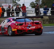 FIA GT1 2012 - #3 - Ferrari 458 Italia - Marco Cioci / Filipe Salaquarda by motapics
