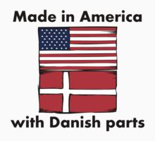 Made In America With Danish Parts One Piece - Short Sleeve